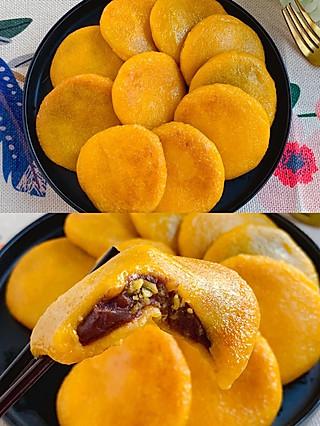 Lincf_v的㊙️零失败❗️软糯香甜,无敌好吃的奶香南瓜饼~
