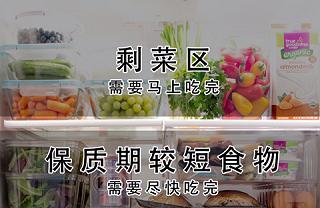 Merirosvot的让冰箱干净整洁的收纳小技巧