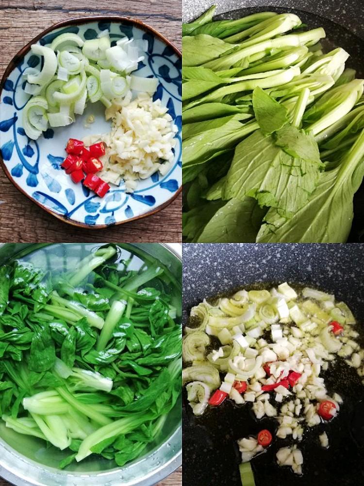 香菇炒油菜,简单易做,味道鲜美图4