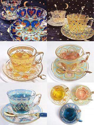 桃小逃的分享一组巨好看的杯子✨ ❄️你喜欢吗?