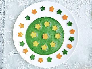 y颜女子的庆祝🎉国庆节🇨🇳🎉党70周年,做一款五角星🌟蛋饼吧