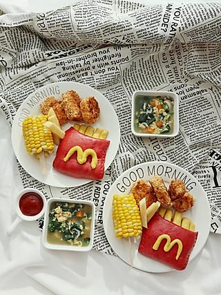 乔妃記的完美的伪麦当劳儿童餐