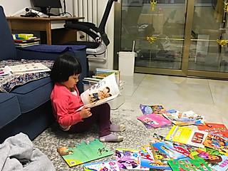 厨小花的如何培养一个爱读书的孩子