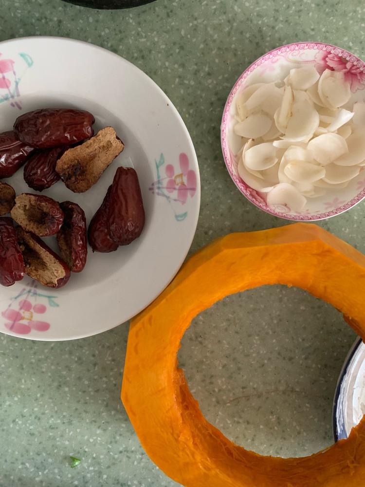 养颜养身的红枣百合蒸南瓜图3