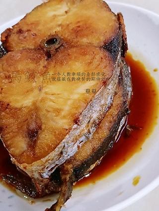 小厨蔡蔡的香煎马鲛鱼