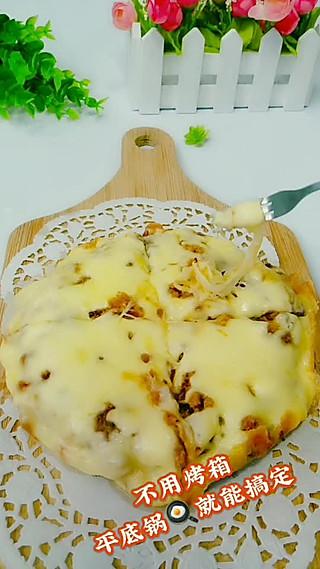 丹丹妈辅食的平底锅面条披萨12+