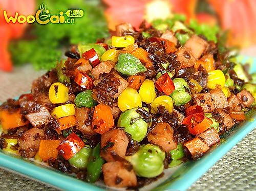 川菜 芽菜小炒的做法