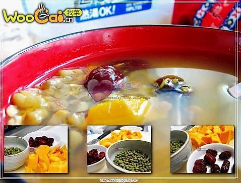 特制绿豆汤的做法
