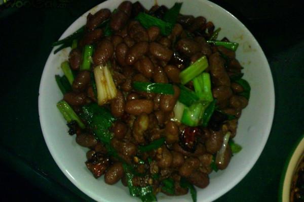 简单的黔味干煸四季豆的做法