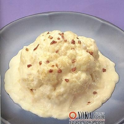 奶油菜花的做法