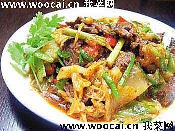 韩式泡菜炒牛肉的做法
