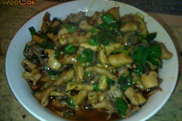 黔菜——爆炒鸡杂的做法