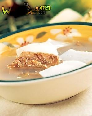 宝宝食谱之墨鱼排骨汤的做法