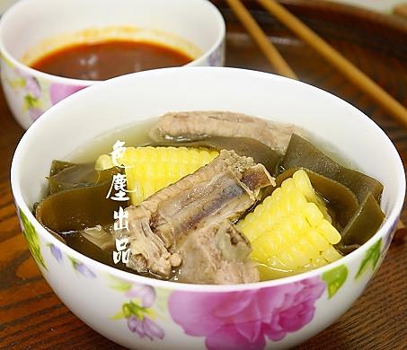 玉米海带排骨汤——营养快餐