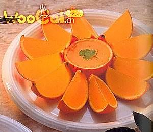 清清甜甜橙果冻的做法