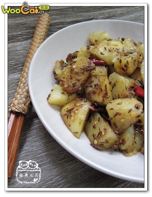 省时省力——孜然土豆——美丽厨娘的做法