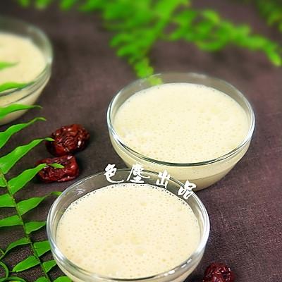 家庭自制红枣酸奶
