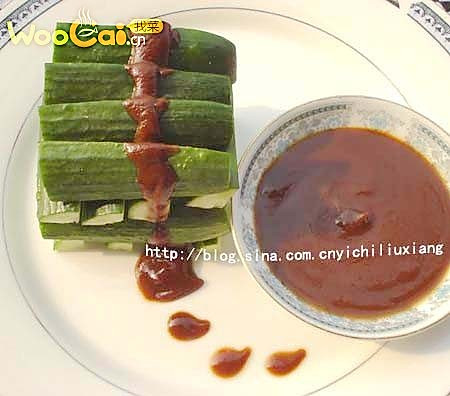 面酱黄瓜的做法