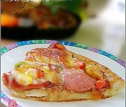 泡椒火腿皮萨的做法