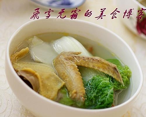 乳鸽青菜汤:一碗汤温暖一家人的做法