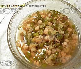 清凉绿豆汤的做法