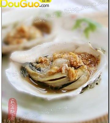 蒜茸烤牡蛎----秋季吃牡蛎正当时的做法