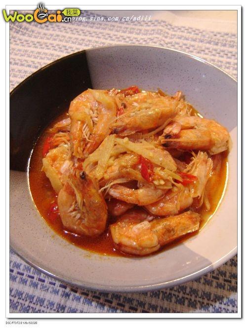 油焖大虾——美丽厨娘的做法