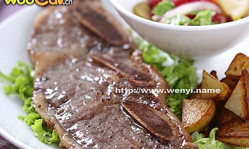 牛排伺候中国胃 香煎牛排套餐的做法