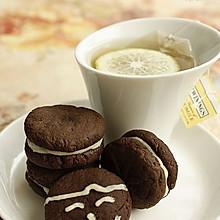 黑白巧克力夹心饼干
