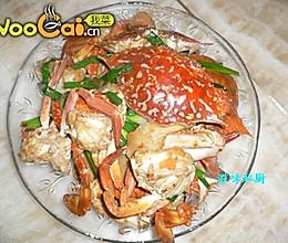 姜葱炒海蟹的做法