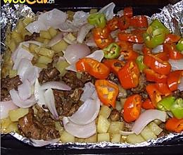 美丽厨娘--羊肉烤土豆的做法