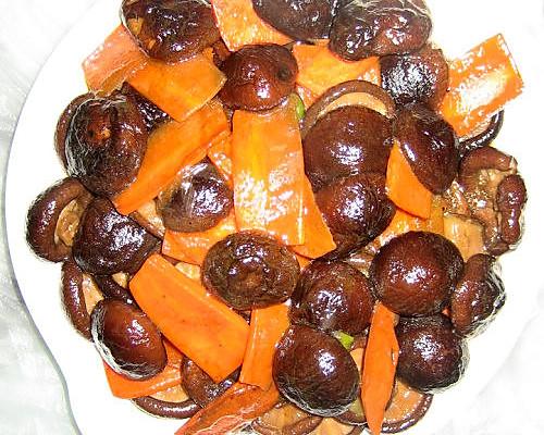 蚝油香菇的做法