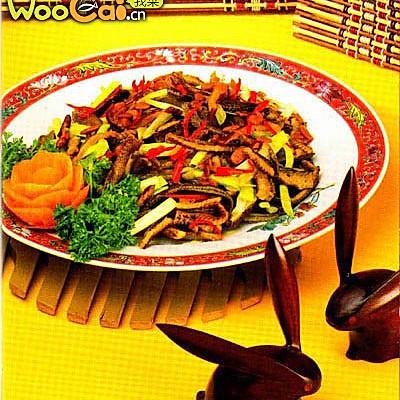 炒黄鳝丝的做法