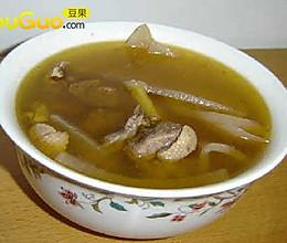 酸萝卜老鸭汤-冬季进补的做法