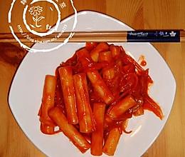 韩式炒米条的做法