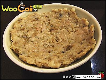 梅菜肉饼的做法
