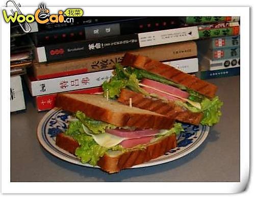 顶级早餐享受:自制三明治 的做法