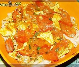 番茄炒蛋拌面的做法