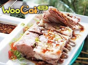 草原菜——手把肉的做法