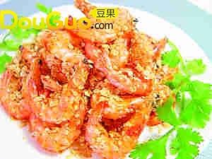 假日休闲美食——黄金炸虾的做法