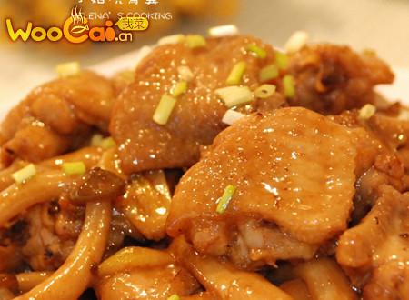 美味鸡翅——小菇烧凤翼的做法