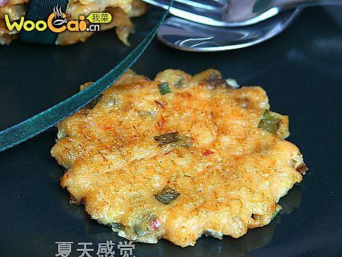特色美味 韩国泡菜饼的做法