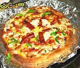 家庭自制PIZZA:香肠匹萨 的做法