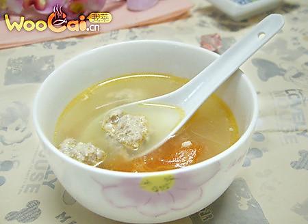 美味的西红柿肉丸汤的做法