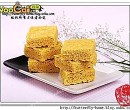 豆香玉米面发糕---美丽厨娘  【蝶儿美食】 的做法
