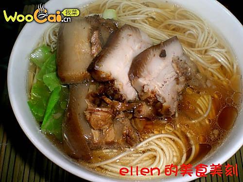苏式焖肉面的做法