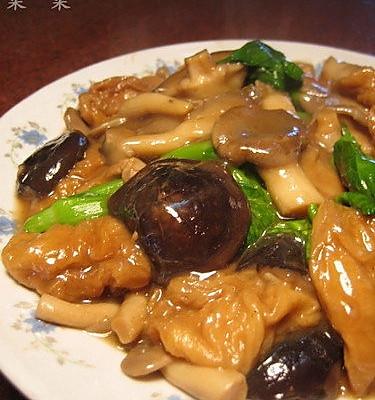 菌菇面筋煲的做法