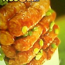 豆皮香肠卷
