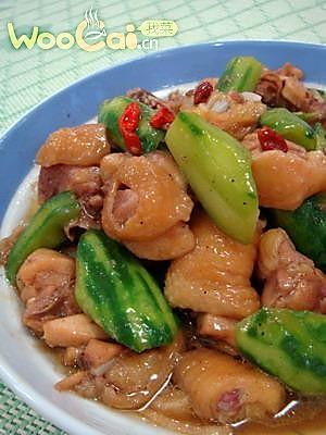 我菜推荐白领健康菜——丝瓜炒滑鸡的做法
