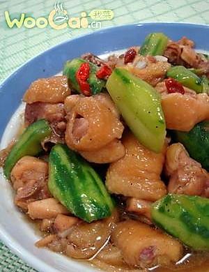 我菜推荐白领健康菜——丝瓜炒滑鸡